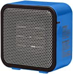 AmazonBasics 500 Watt Ceramic Personal Heater, Blue