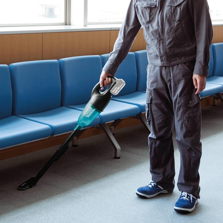 MAKITA DCL180ZB Negro, Azul-Aspiradora (Secar, Sin bolsa, 0,65 L, Batería, 20 min), 30 W, 18 V: Amazon.es: Bricolaje y herramientas