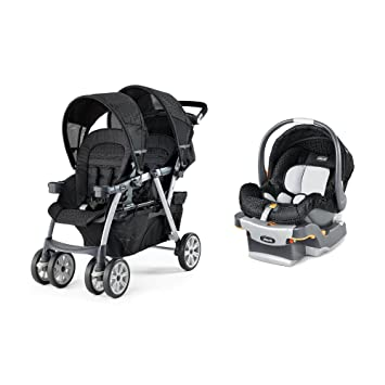 amazon com chicco cortina together travel system double stroller