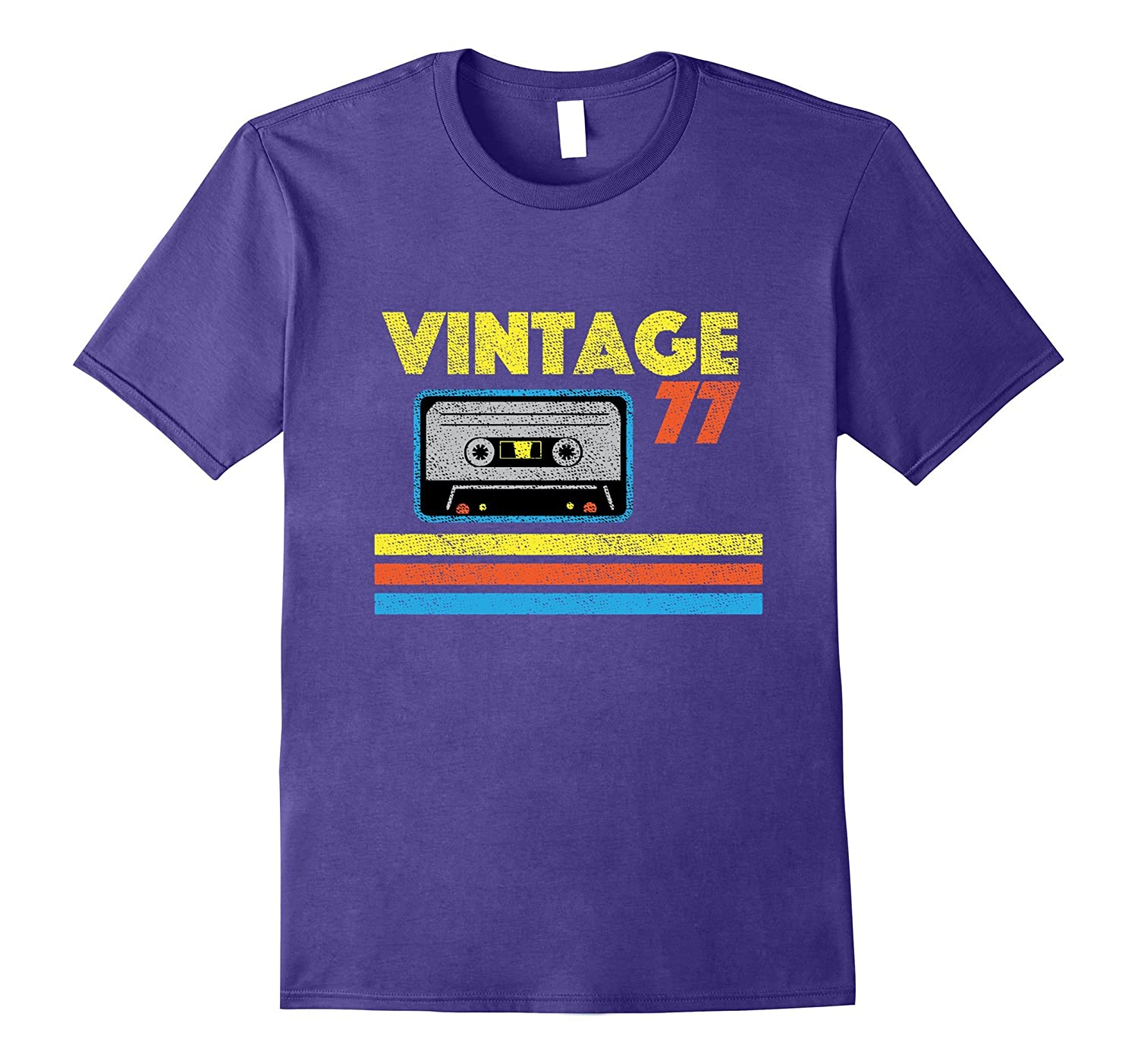 Vintage 77 Birthday T-shirt-PL