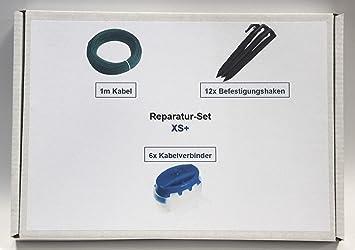 genisys Juego de reparación XS Hercules Limpiaparabrisas Ciiky Cable Gancho Verb. Kit de reparación de Paquete: Amazon.es: Jardín
