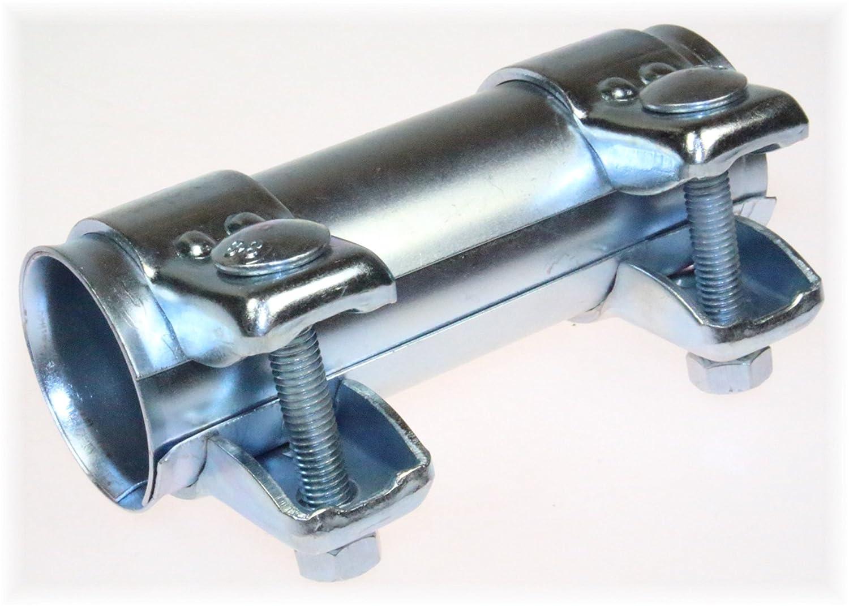 BayWorld Auspuff Universal Rohrverbinder 38x42,5x125mm Doppelschelle 38x125mm