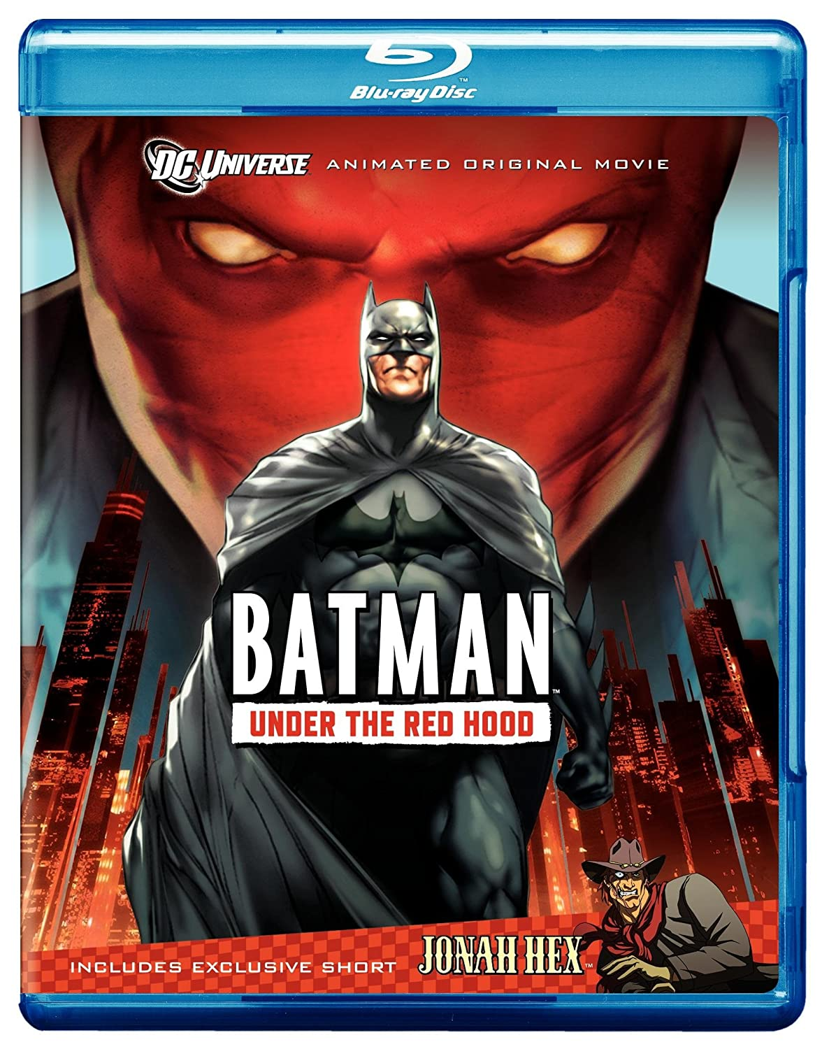 Amazon Com Batman Under The Red Hood Amazon Exclusive Limited Edition With Litho Cel Blu Ray Bruce Greenwood Jensen Ackles John Dimaggio Neil Patrick Harris Jason Isaacs Wade Williams Brandon Vietti Movies Tv