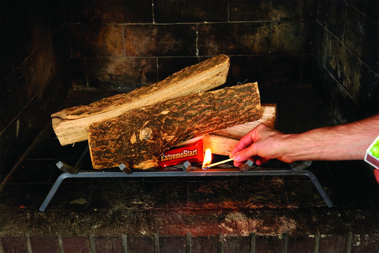 Pine Mountain ExtremeStart Wrapped Fire Starters 12 Starts Firestarter Wood Fire Log for Campfire//Fireplace//Wood Stove Fire Pit Indoor/&Outdoor Use Jarden Home Brands 4152501032
