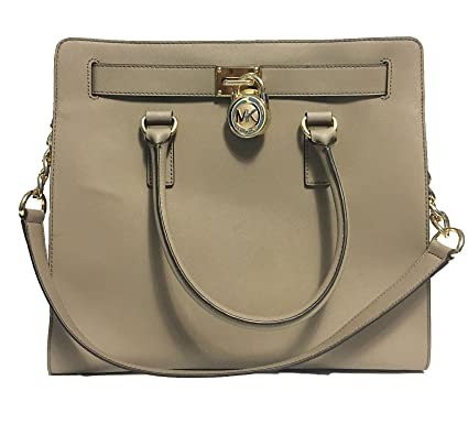 Amazon.com  MICHAEL Michael Kors Hamilton North South Tote (Dark ... e059ac7358