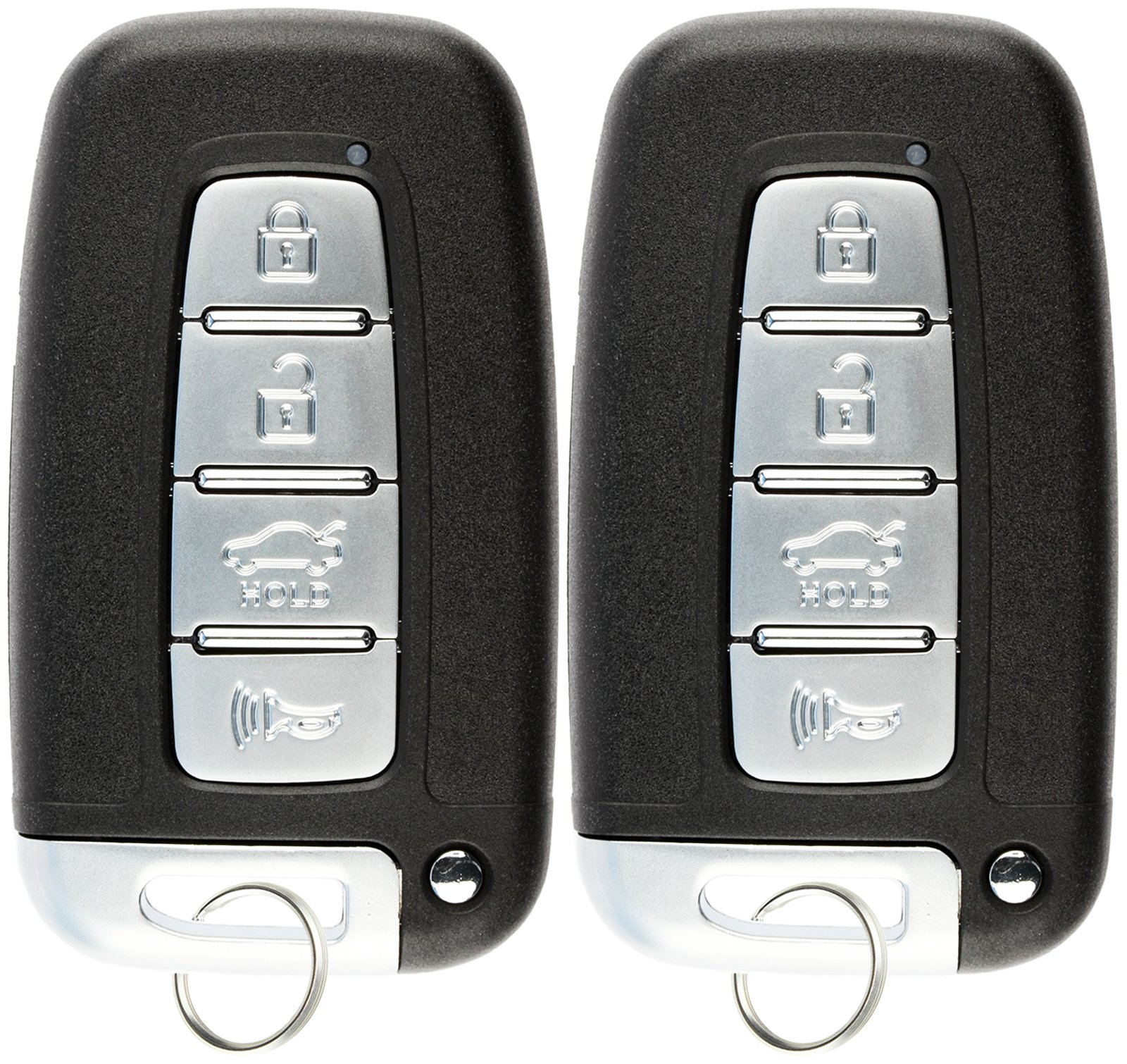 KeylessOption Keyless Entry Remote Control Car Key Fob Clicker for Hyundai Kia (Pack of 2)