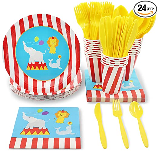Circus Party Bundles for 24 Guests