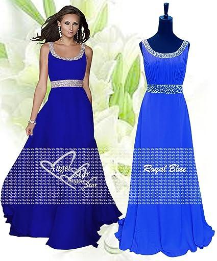 Larga vida útil de nuevo vestido de Gasa de dama de honor formal de noche vestido de fiesta: Amazon.es: Ropa y accesorios