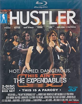 HUSTLER This is Aint The Expendables 3D Blu-Ray + Blu-Ray 3D No ...