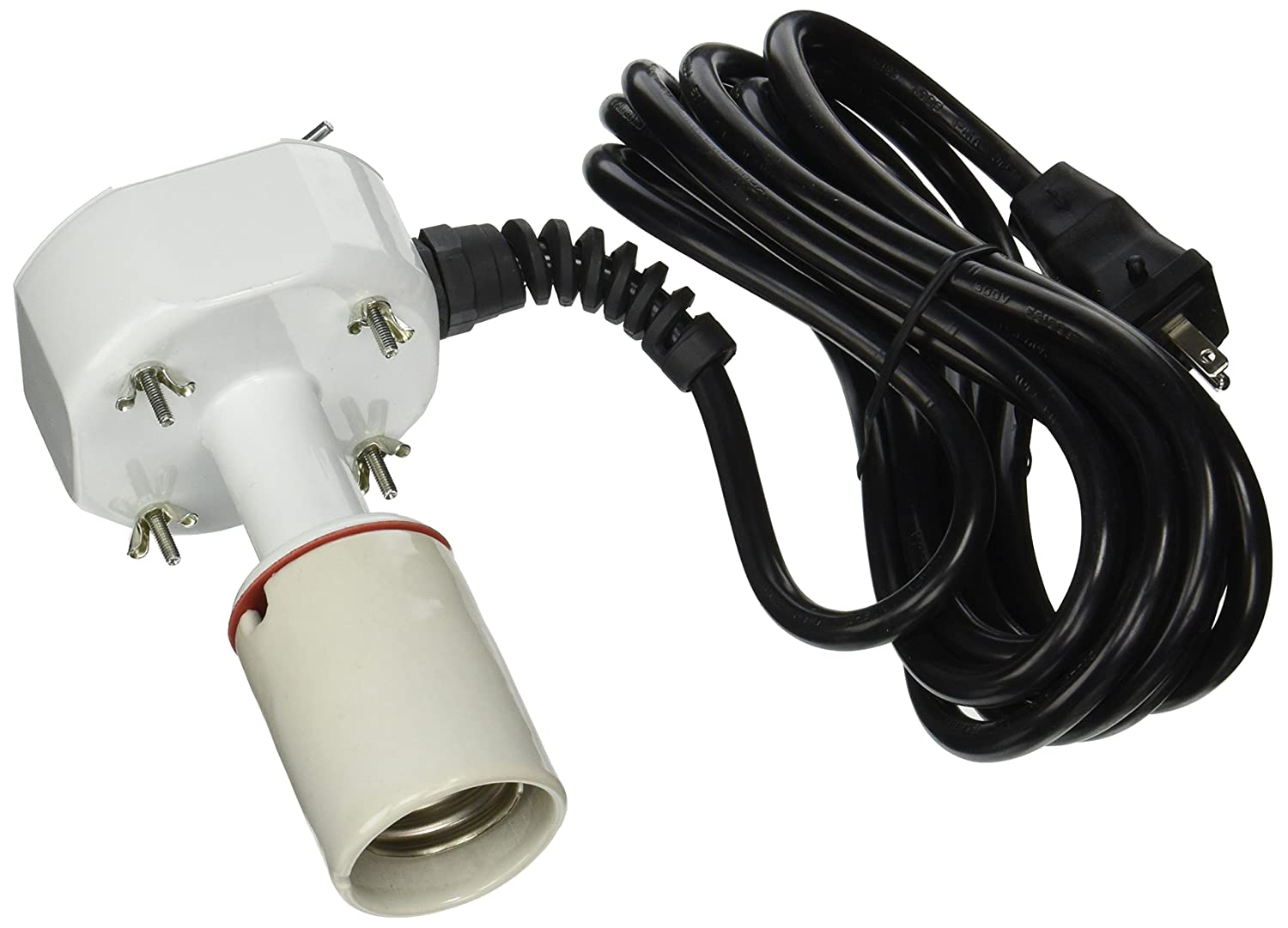 Amazon.com: Sun System 16 Gauge Socket Assembly with Lamp Cord, 15 ...
