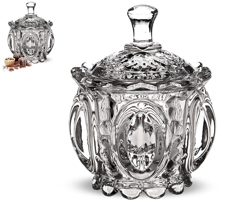 –Bombonera de cristal–11cm) AVENUELAFAYETTE