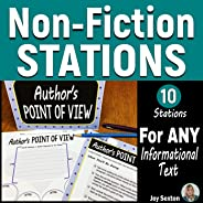 Non-Fiction STATIONS for ANY Informational Text - Middle School