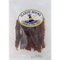 Wild Salmon Jerky by Hardy Buoys | Smoked Fish Snack, High in Protein and Low in Carbs | 60 g (Garlic Pepper)
