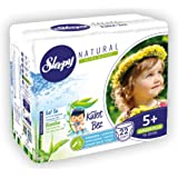 Sleepy Natural Külot Bez 5+ Numara Junior Plus (13-20 Kg) 22 Adet