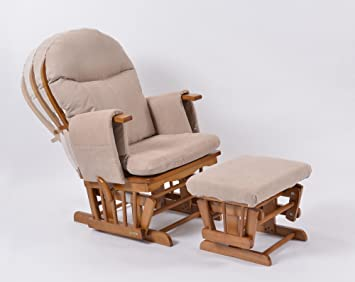 buy popular cf1cc 72d8b Habebe Glider Rocking Nursing Maternity Recliner Chair with footstool  ***WITH BRAKE + WASHABLE COVERS***