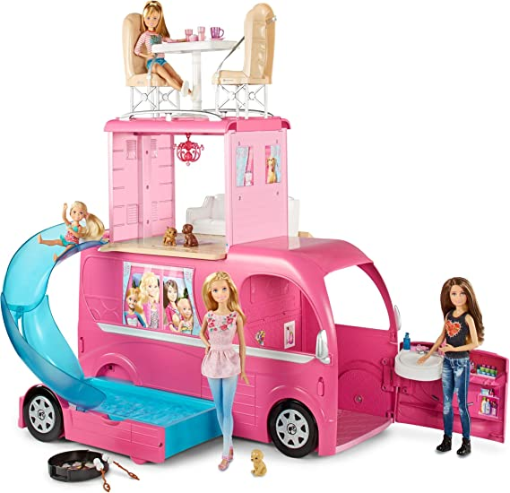 Barbie Pop-up Camper [Amazon Exclusive]