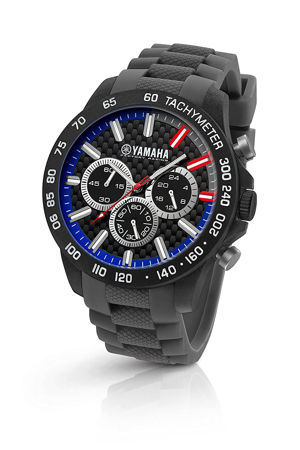 Vr46 By Tw Steel Herrenuhr Analog Quartz Silikon Grau Y114