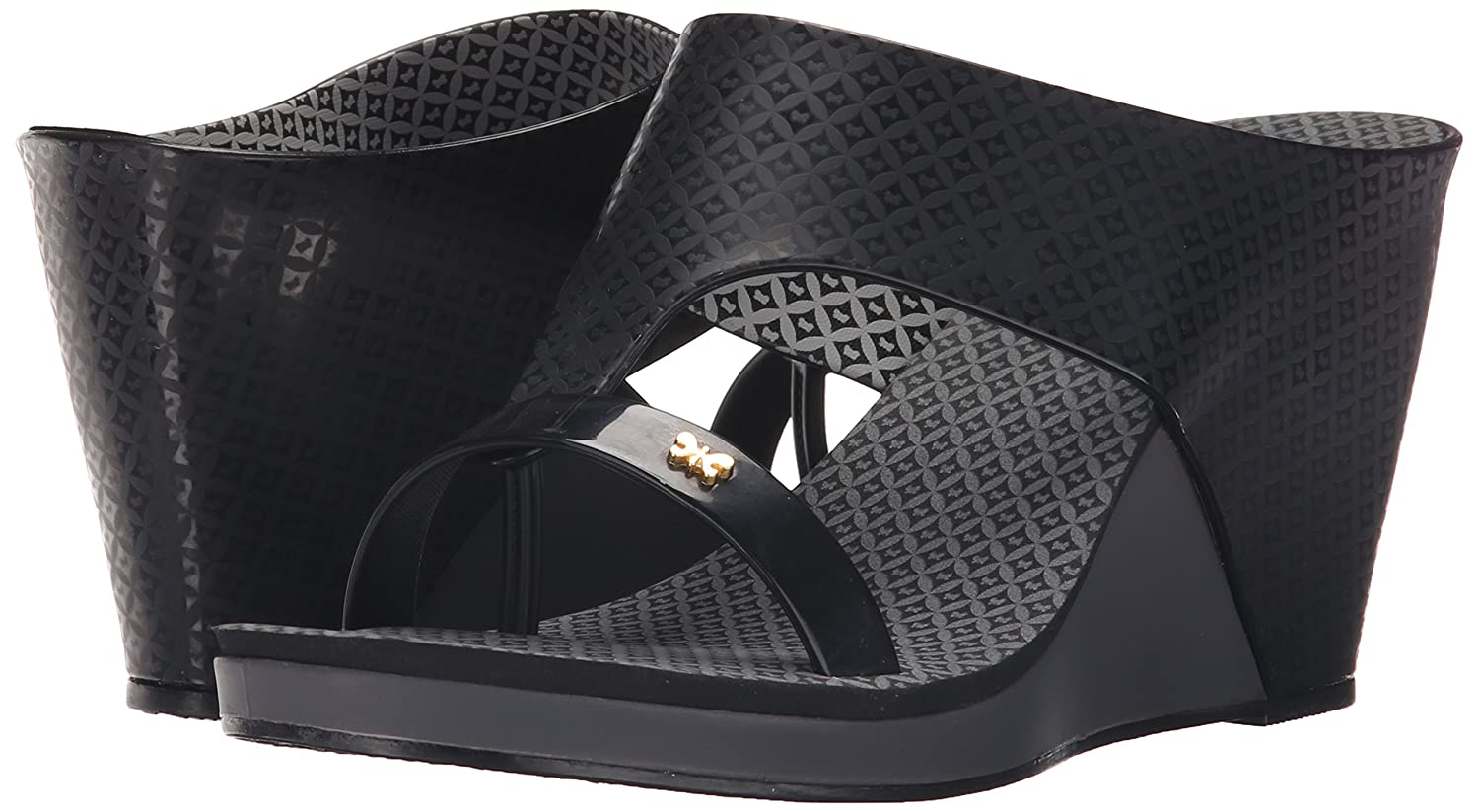 9f76bd0d53 Zaxy Women's Glamour Top II Wedge Sandal, Black, 8 M US: Buy Online at Low  Prices in India - Amazon.in