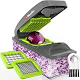Mueller Austria Onion Chopper Pro Vegetable Chopper - Strongest - 30% Heavier Duty Vegetable Slicer Dicer Cutter with…