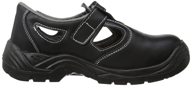 Black Regular Size: 35 S1 Portwest FW01BKR35 Steelite Safety Sandal