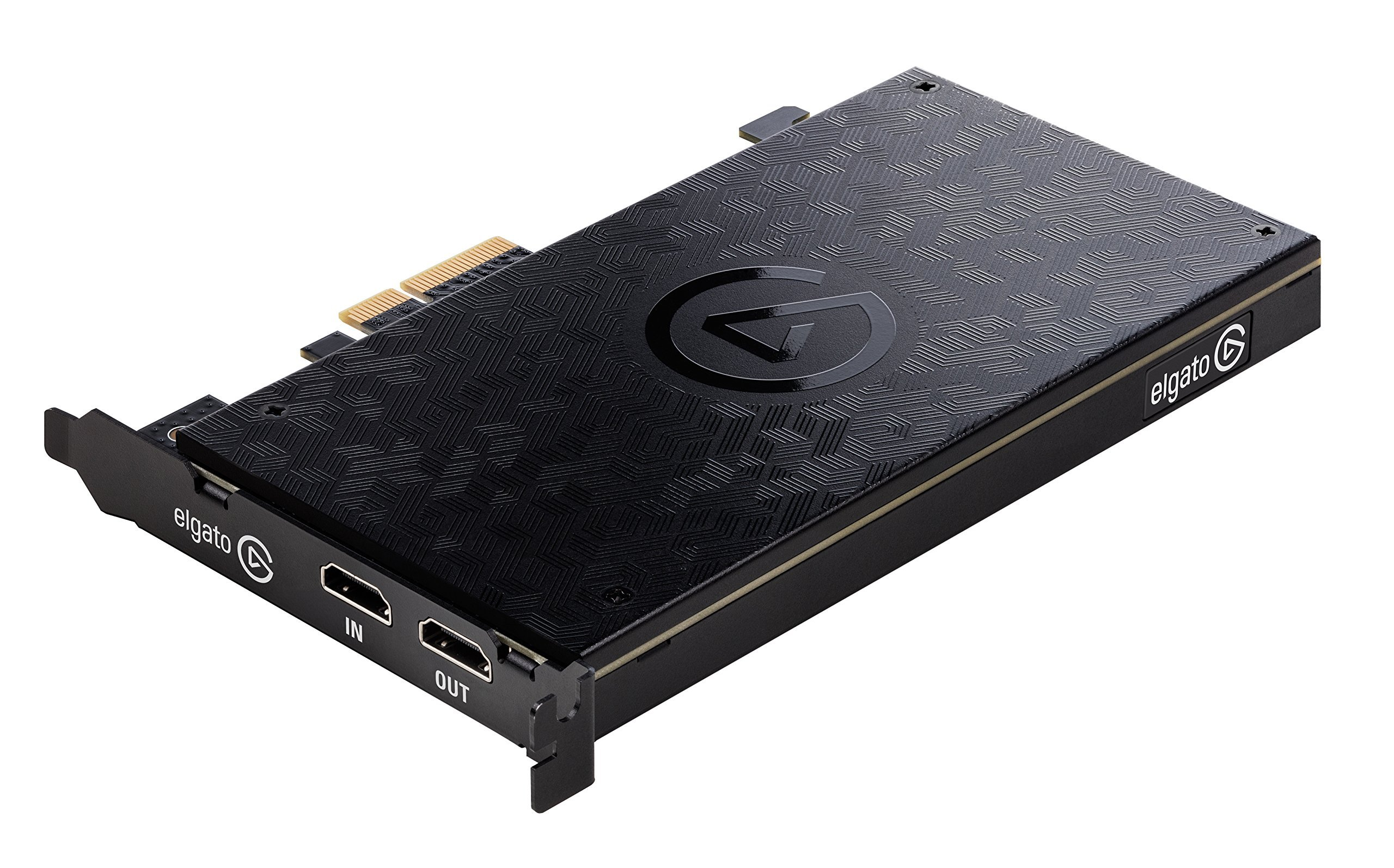 Elgato Game Capture 4K60 Pro - 4K 60fps capture card with ultra-low latency technology for recording PS4 Pro and Xbox One X gameplay, PCIe x4 (Renewed) by Corsair