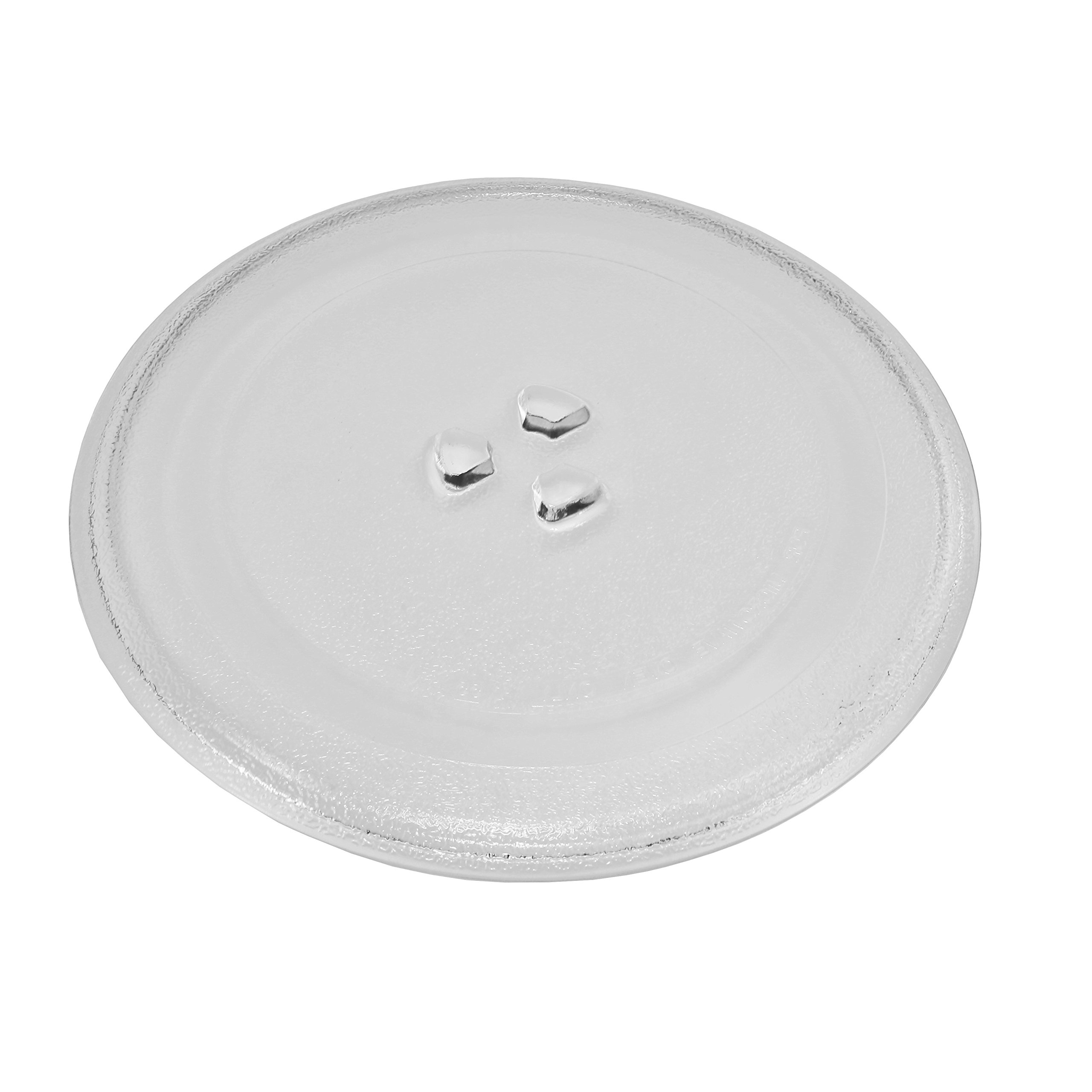 Microwave Glass Turntable Plate 9.5'' or 245mm Designed to Fit Several Models