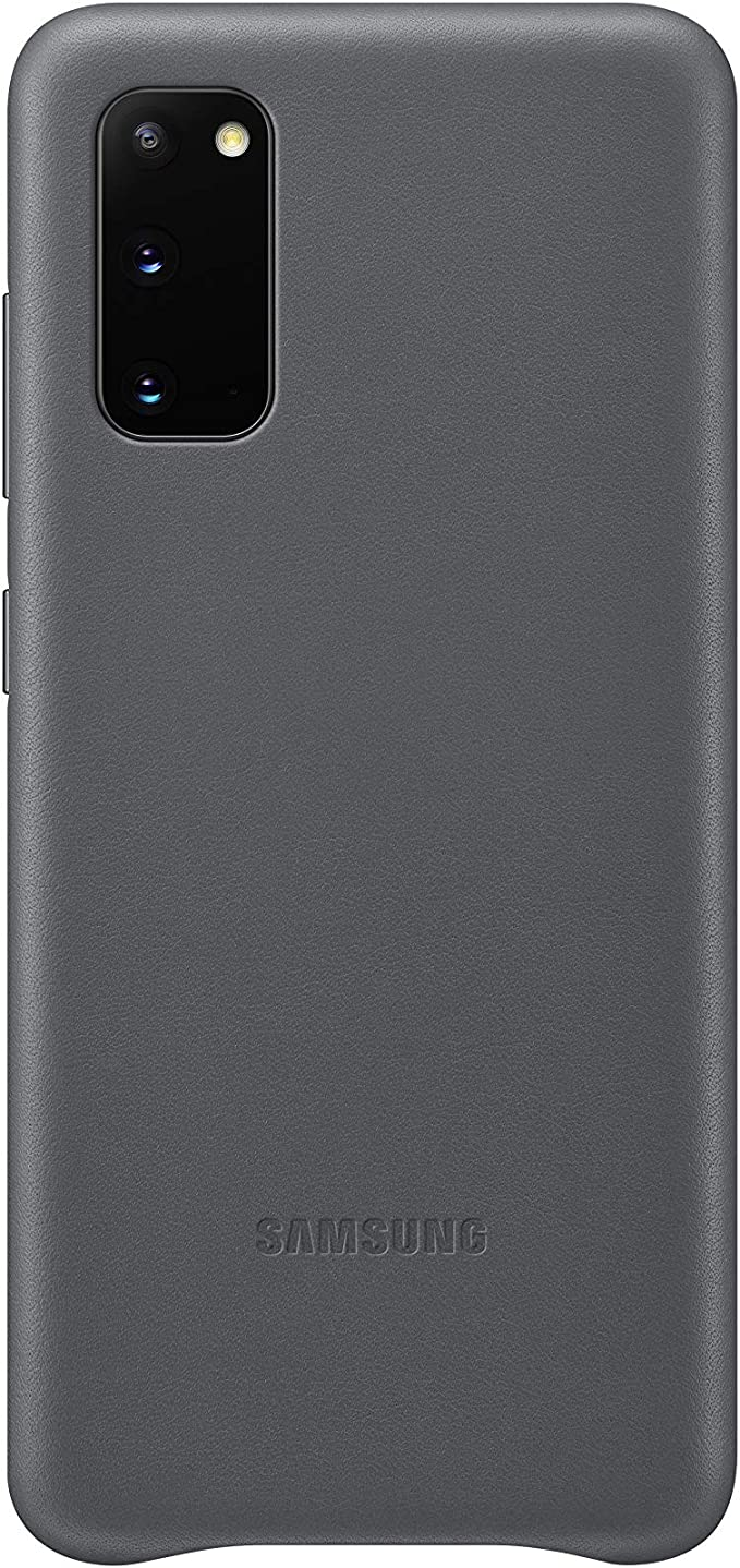 Samsung Leather Smartphone Cover Ef Vg980 For Galaxy S20 S20 5g Mobile Phone Case Genuine Leather Protective Case Shockproof Premium Grey Elektronik