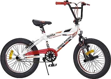 TOIMSA - Bicicleta BMX Freestyle de 18 Pulgadas, 6 a 8 años, 538 ...