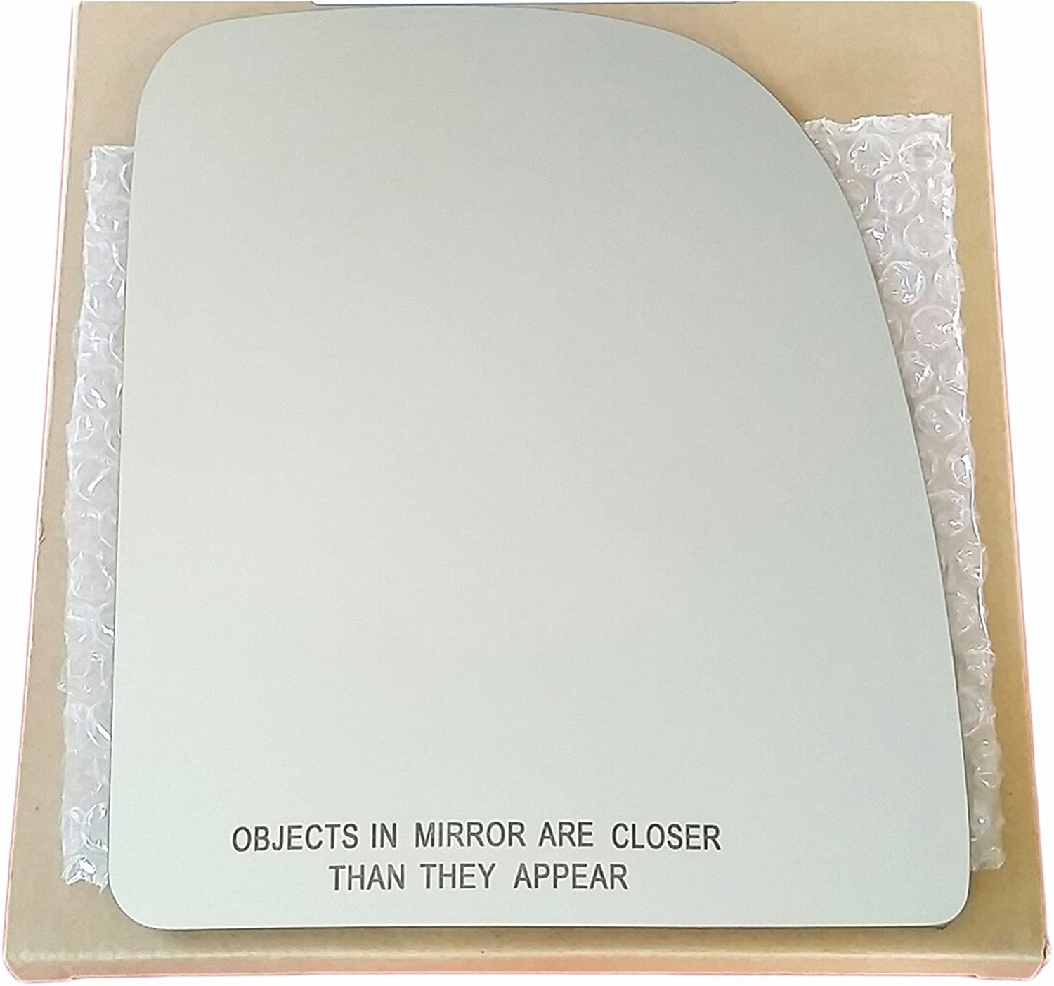 F-250 Upper Flat Mirror Glass F-350 Driver Side Adhesive For Ford F-150
