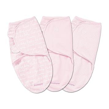 Amazon.com: SwaddleMe Original Swaddle 3 unidades, rosado ...