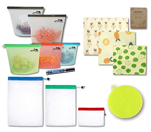 Shibz Innovations 5 bolsas de silicona reutilizables para Sous ...