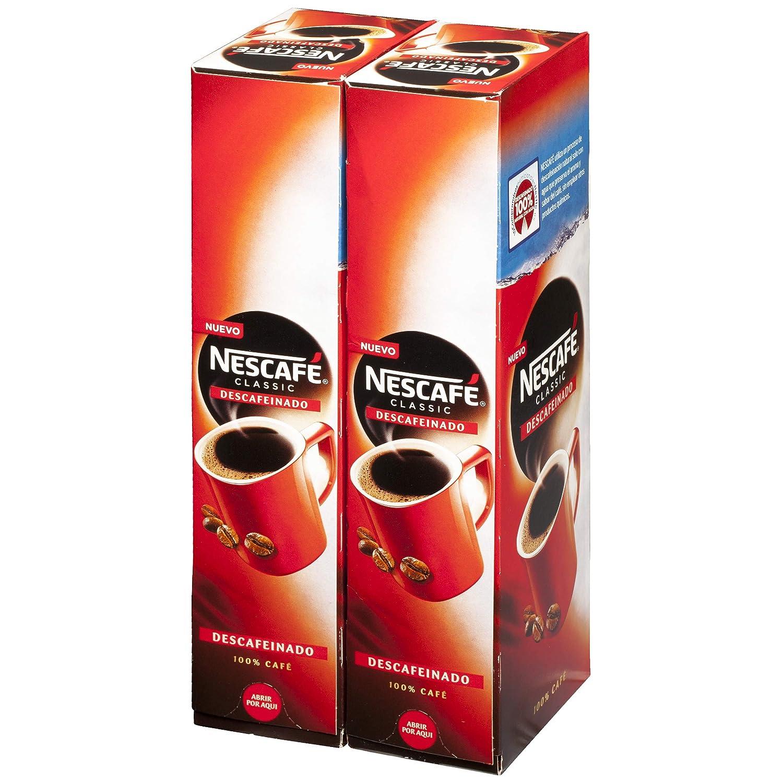 NESCAFÉ Café soluble descafeinado - 2 Estuches De 50 Sobres de Café - 200g: Amazon.es: Alimentación y bebidas