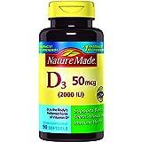 Nature Made Vitamin D3 2000 IU Softgels 90 Ct (Packaging may vary)