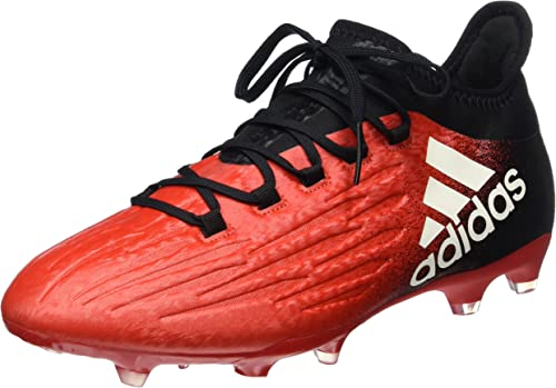 Bañera matraz Clip mariposa  adidas Men X 16.2 'Firm Ground' BB5632 Boots - Black/Red/White, Size UK  11.5: Amazon.co.uk: Shoes & Bags