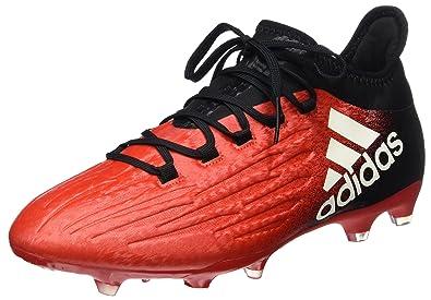 adidas X 16.2 FG Chaussure de Football Homme, Noir (C Black/FTW White/c Black), 46 EU