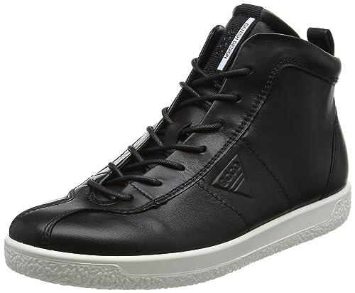 Ecco Soft 1, Zapatillas para Mujer, Negro (Black), 40 EU