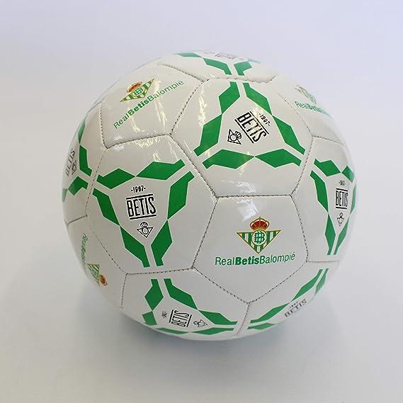 Real Betis Balompié - Giralda T2 Balón de fútbol Sala, Blanco/Verde, ST: Amazon.es: Deportes y aire libre