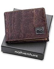 c68460fc2a7ea natventure® Geldbeutel aus Korkleder mit RFID Schutz