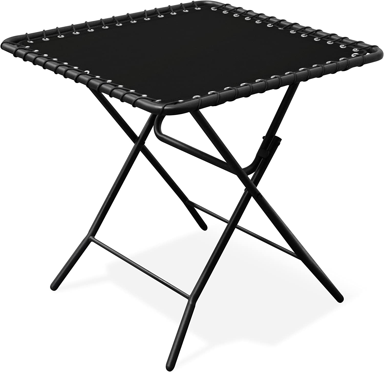 Caravan Sports Textilene Table, Black, Black