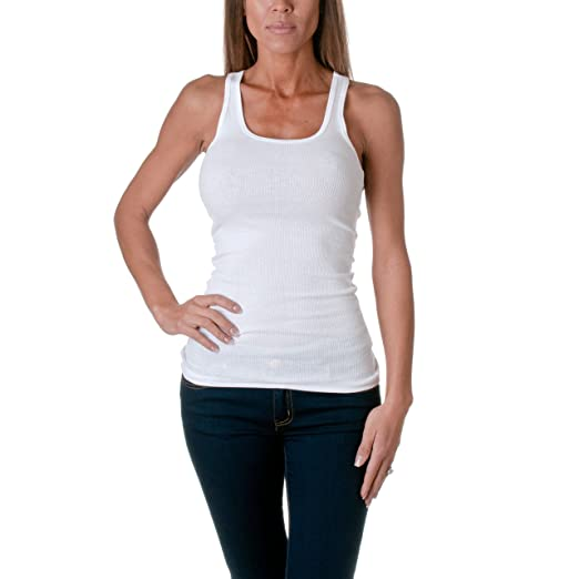 063c6c8961fc4 Image Unavailable. Image not available for. Color  Active Basic Women s  Basic Ribbed Tank Top ...