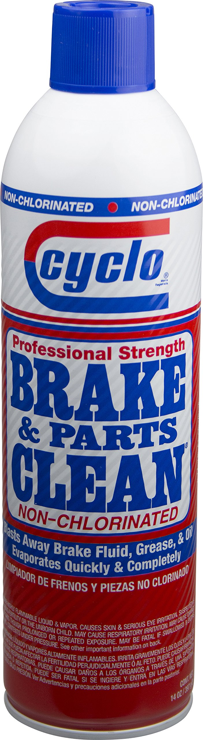 Niteo Cyclo Brake & Parts Clean: Original Non-Chlorinated Formula, 14 fl oz