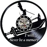 Gullei.com Decorative Vinyl Record Final Fantasy Wall Clock for Bedroom