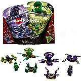 LEGO 70664 Ninjago Spinjitzu Lloyd Versus Garmadon Building Kit, Colourful