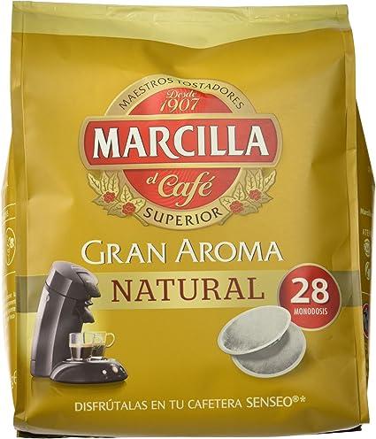 Marcilla Gran Aroma Natural, 1 paquete de 28 monodosis: Amazon.es ...