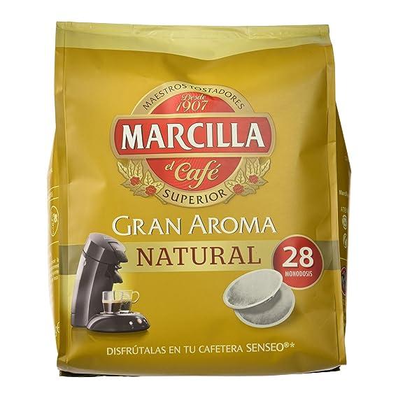 Marcilla - Café Molido de Tueste Natural - 28 Monodosis - 194 g