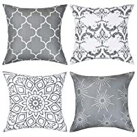 Fascidorm Throw Pillow Covers Modern Decorative Throw Pillow Case Cushion Case for...