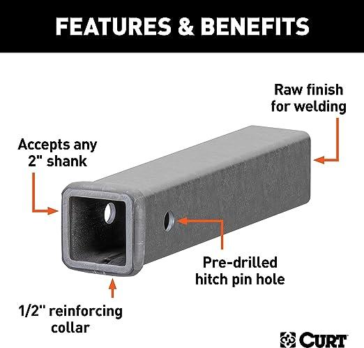 Curt Manufacturing 49510 Trailer Hitch