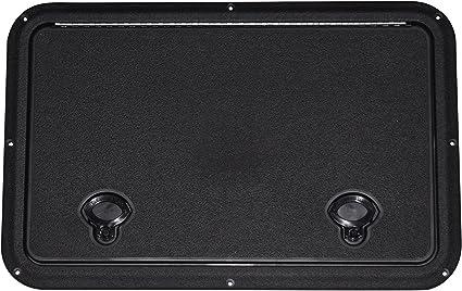 """DPI Marine 13/"""" x 20/"""" Flush Series Hatch//Door Marine White Off-White"""