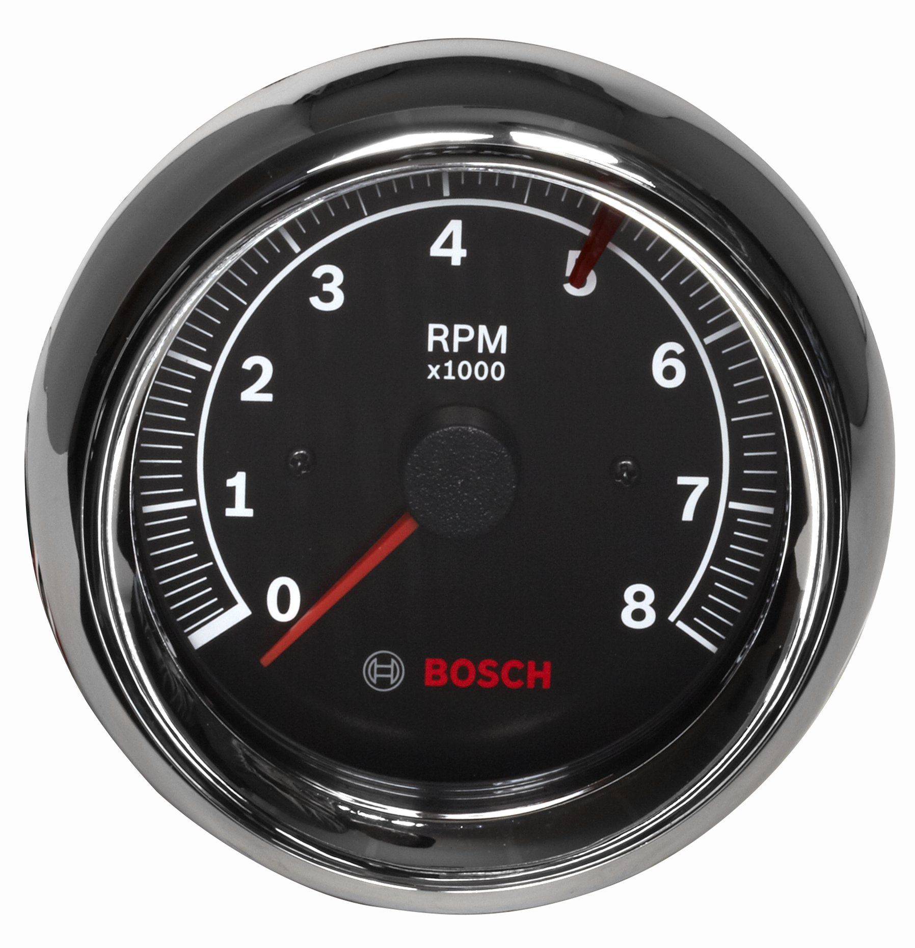 Best Rated In Automotive Replacement Tachometers Helpful Customer 1982 Ford F 150 Factory Tach Wiring Bosch Sp0f000018 Sport Ii 3 8 Tachometer Black Dial Face