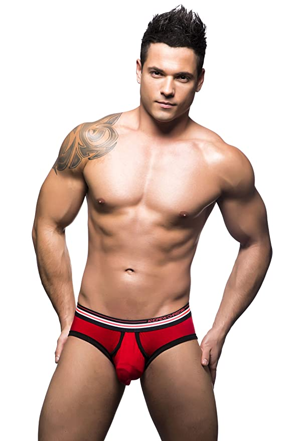 Andrew Christian Power Top Mesh Brief w/ Almost Naked